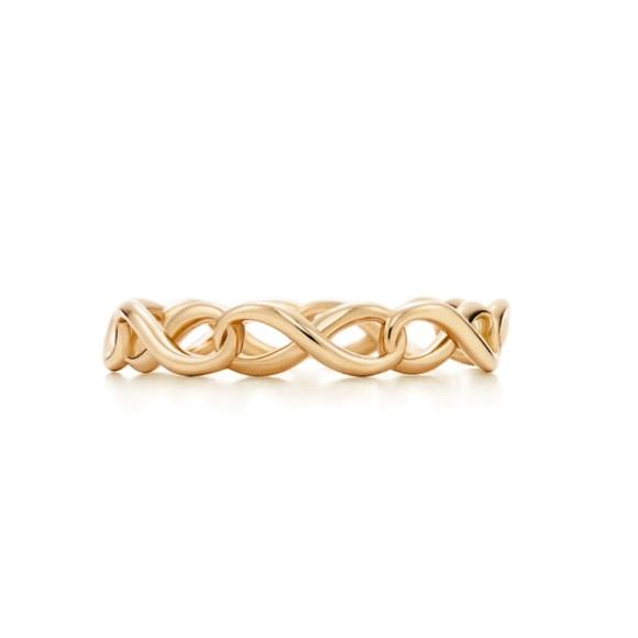 9347082241fa7 Tiffany & Co. Jewelry | Tiffany Infinity Gold Ring | Poshmark